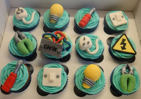 Looking for a bit more spark?   Party Cupcake Ideas