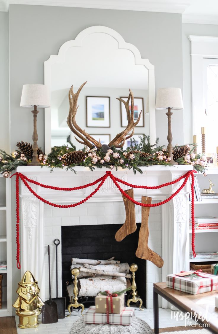 180 Best Images About Christmas Home Tours On Pinterest
