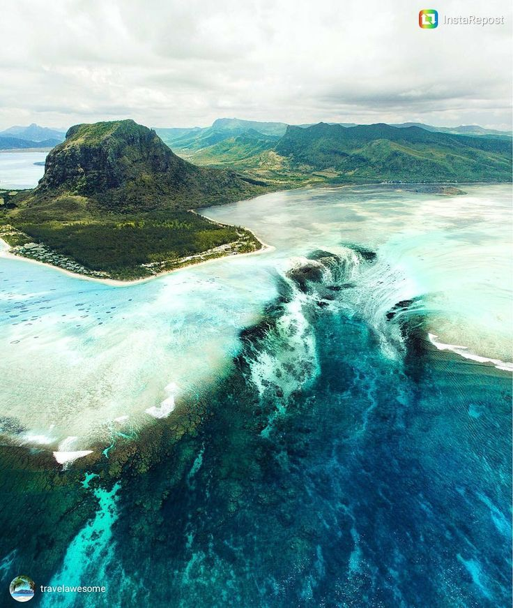 A waterfall underwater in Mauritius.  Experience this mesmerizing view by just booking your tickets at Jetstay.com at amazingly affordable prices.  Courtesy - @travelawesome  #Jetstay #travel #fly #mauritius #vacation #explore #LoveForTravel #flight #CheapFares #FlightTicket #booknow #userexperience #priceguarantee #easybooking #CustomerService