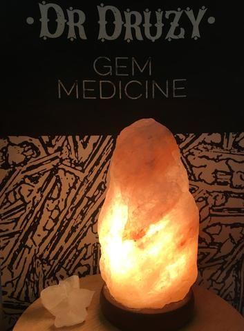 Himalayan Crystal Salt Lamp 2-3kg - Dr Druzy - 1