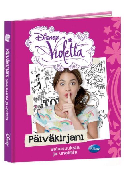 Tutustu supersuositun Violetta-TV-sarjan maailmaan! Teinityttö Violetta palaa isänsä kanssa synnyinkaupunkiinsa Buenos Airesiin asuttuaan pitkään Euroopassa. Hän alkaa ottaa pianotunteja arvostetussa esittävien taiteiden koulussa, Studio 21:ssä, ja kohta elämään tupsahtaa niin ystäviä, taidetta kuin rakkauttakin. Päiväkirjassaan Violetta paljastaa unelmansa ja salaisuutensa ja avaa oven sydämeensä!