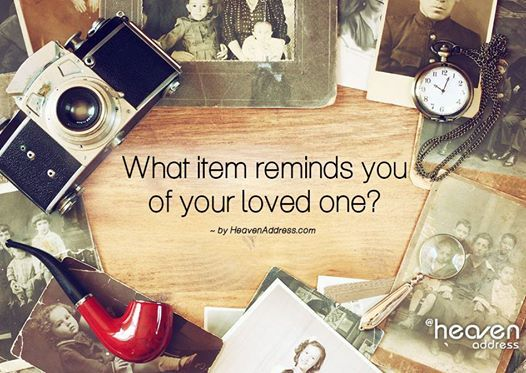 You will never know the true value of an object until it becomes part of a memory.