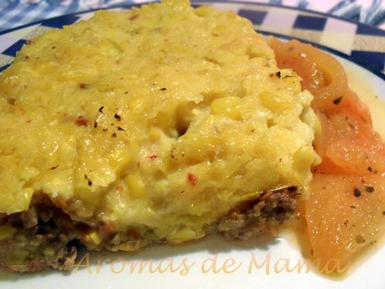 """Aromas de Mamá   Recetas de Cocina: PASTEL DE CHOCLOS (MAÍZ) """"AROMAS DE MAMÁ""""®"""