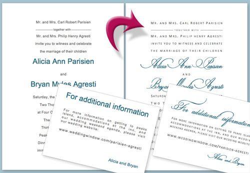 RSVP postcard inserts. DIY on Microsoft Word. : wedding diy ...