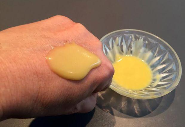 Gommage naturel pour les mains