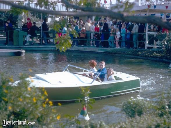 Miss the Motor Boats  at Disneyland. When I was little, I totally didn't know there were tracks!