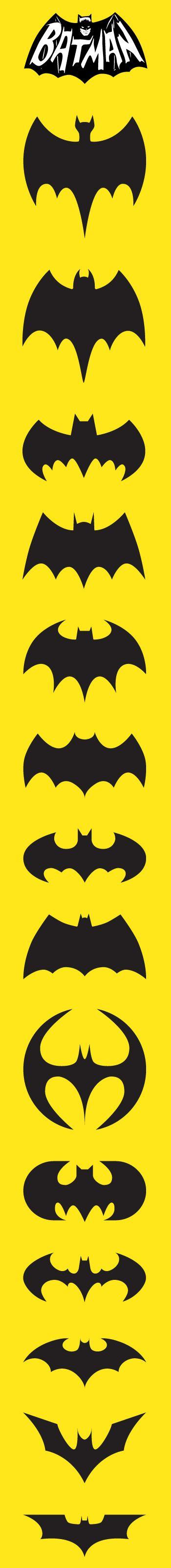 www.visualcorp.cl Porque nos gusta Batman en todos sus logos.