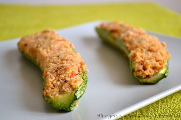 Zucchine ripiene bimby #ricettebimbynet