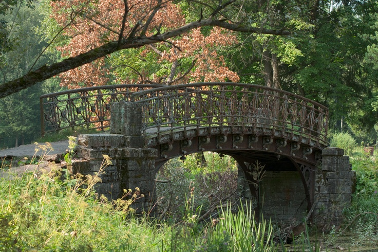Bridge in Gatchina park (near St. Piterburg)