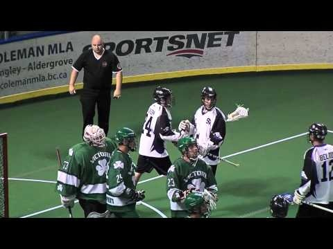 Langley Thunder: Play of the Game vs. Victoria - 07/21/12