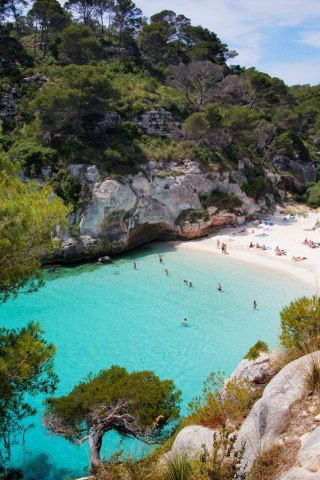 Island of Minorca, Spain. Oh Gosh, I need to go on a vacation!