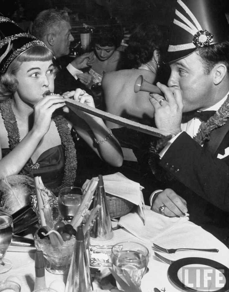 New Year's Eve, 1952   LIFE Magazine