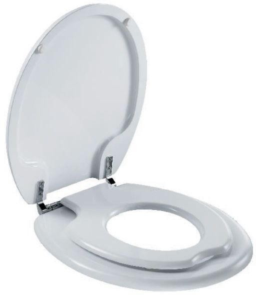 $90 Family Toilet Seat White, Size For Adult And Child From Bathroom Supplies Online