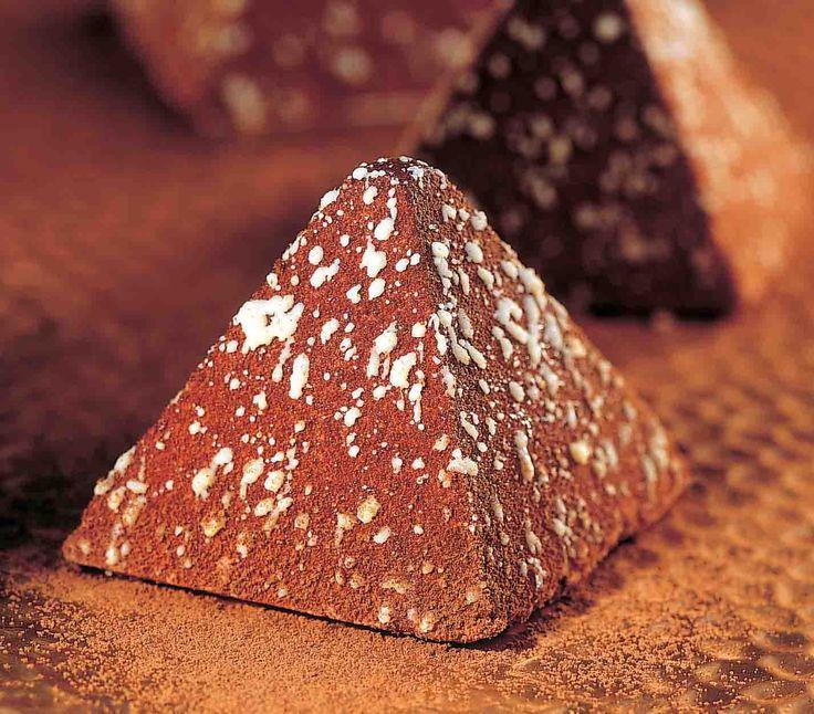 Piramide al cioccolato #monoporzioni #dessert