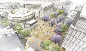 St Peter's Square to be transformed into a tree-lines civic square.