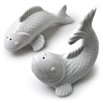 17 best images about salt and pepper shakers on pinterest for Fish salt and pepper shakers