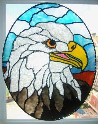American Eagle Window Cling