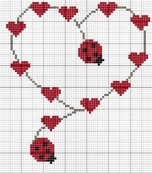 Consider using lady bug buttons instead of stitching.