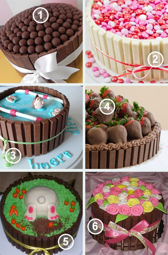 Style my party blog - KitKat taarten