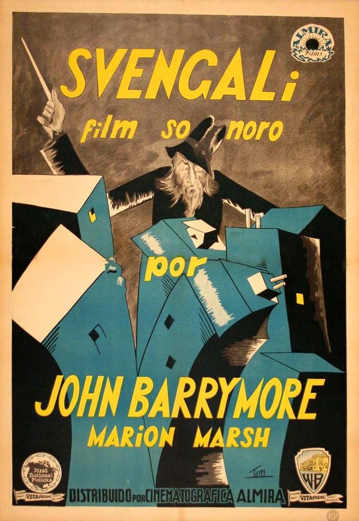 Svengali (1931) Spanish One Sheet Full movies online