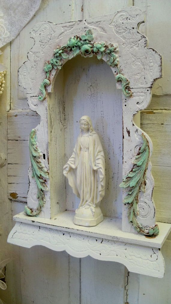 1000 images about vintage catholic on pinterest for Altar wall decoration