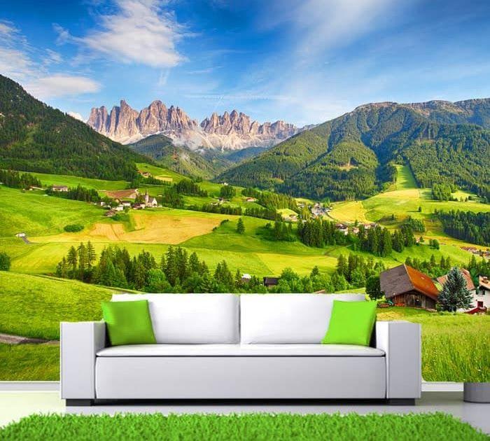 12 Gambar Pemandangan Pegunungan Di Indonesia Wallpaper Dinding Custom Pemandangan Alam 3d Gunung Pegunungan 11 Download Ujung Ku Di 2020 Pemandangan Gambar Alam