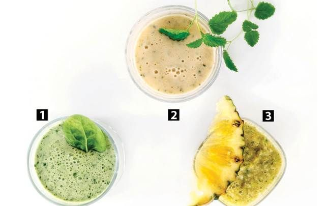 Green power: 3 sunde smoothies