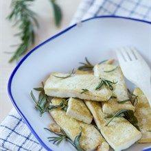 Tofu Saltato in Padella con Salvia e Rosmarino - Ricetta