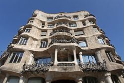 Casa Milà: Casa Milà, commonly known as La Pedrera is the largest civil building designed by Antoni Gaudí. The apartment block was constructed between 1906 and 1910.