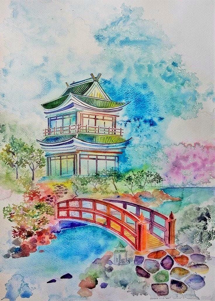 Epingle Par Yasmine Phan Sur Mieo Japon Paysage Paysage Fantastique
