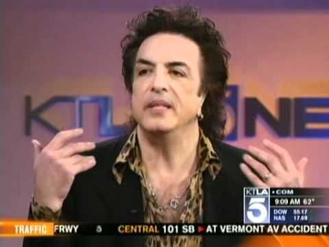 Paul Stanley Interview on the KTLA Morning News (May 9th 2011)
