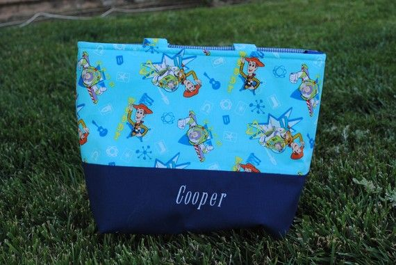toy story tote diaper bag personalized diaper bags toys and diapers. Black Bedroom Furniture Sets. Home Design Ideas