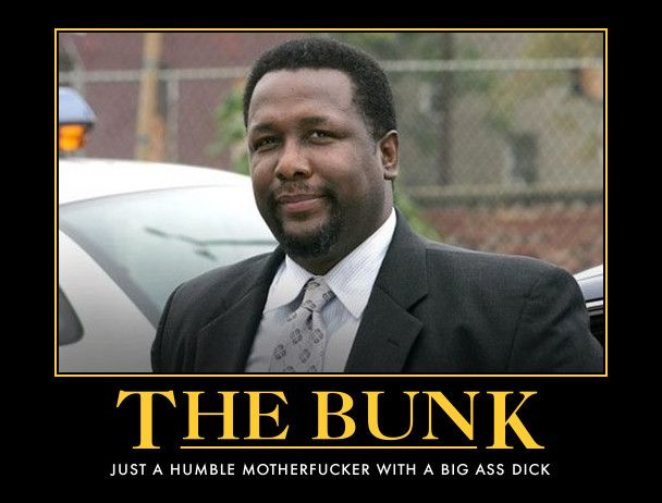 Bunk Moreland The Logical Side Of McNultys Conscience