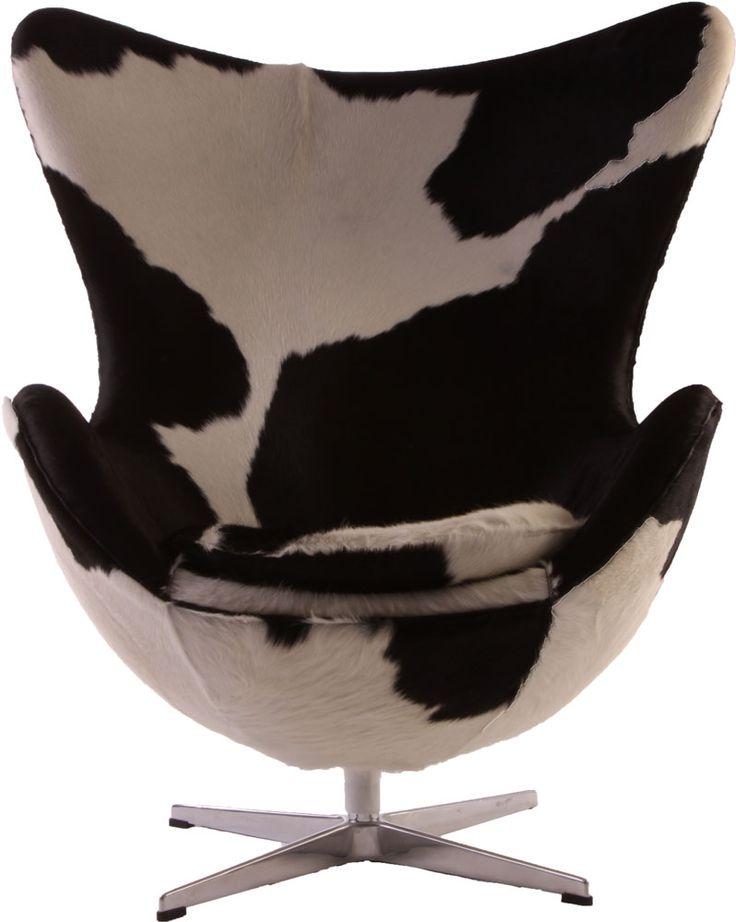 Replica Arne Jacobsen Egg Chair   Cowhide By Arne Jacobsen   Matt Blatt