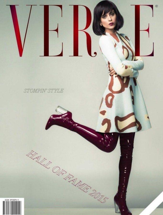 Kangana Ranaut on the cover of Verve magazine.