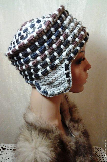вязаные шляпы крючком фото схемы зимние