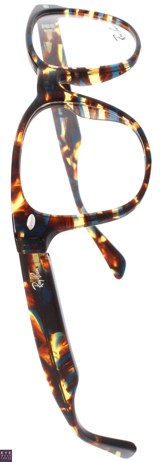 Ray-Ban rectangular prescription glasses for men | EyeWearThese | #eyewear #rayban #glasses #optical