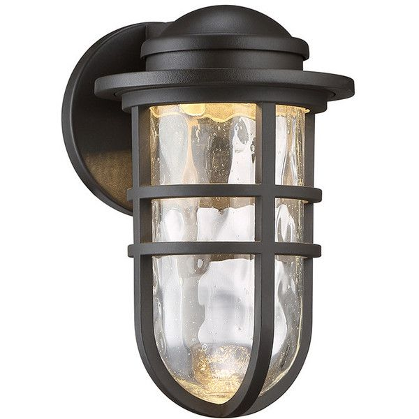 duralite hi tech lighting fixtures. wac lighting steampunk indoor/outdoor wall sconce ($189) ❤ liked on polyvore featuring duralite hi tech fixtures a