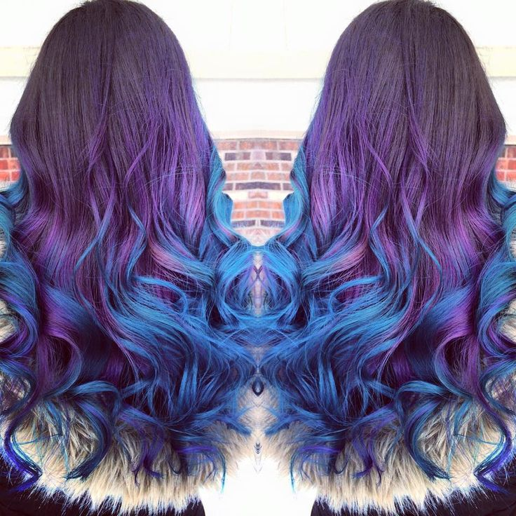 Slightly lighter base with purple variation instead of blue.  Wanting darker blue instead
