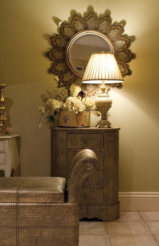 Superb Gold Crocodile Furniture