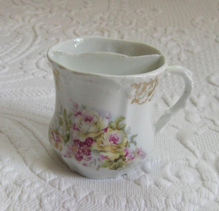 Victorian Mug  . Shaving Mug . mustache mug by vintagous on Etsy