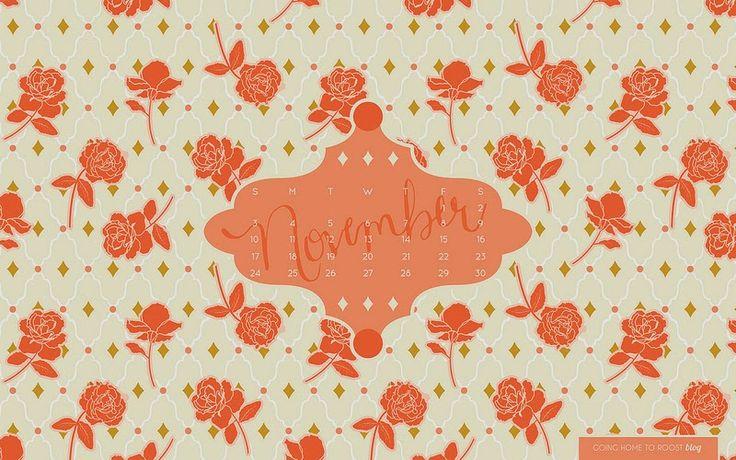 Cute November Calendar Wallpaper : Best ideas about calendar wallpaper on pinterest