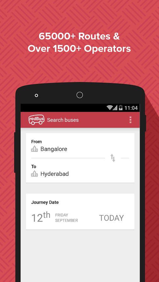 redBus - Bus, APSRTC Tickets- screenshot