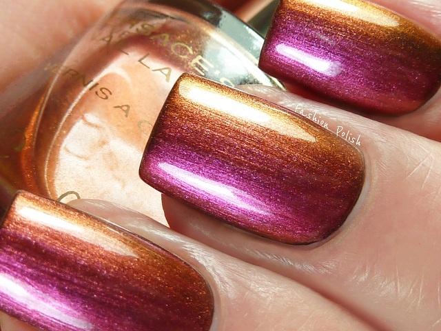 multichrome shimmer <3: Blush Sunset Colors, Nails Nails, Fun Fingernails, Versace Heat, Crazy Nails, Pretty Nails, Beuty Nails, Nail Art, Nails 3