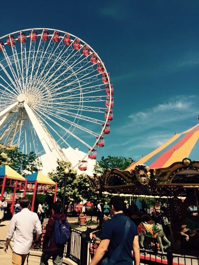 navy pier july 4th 2016