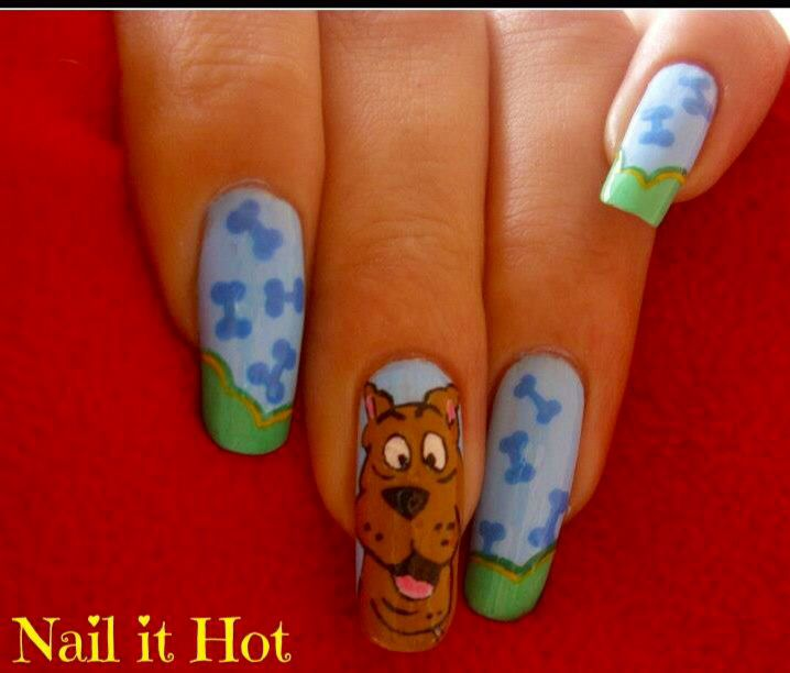 51 best scooby doo nail art images on pinterest scooby doo scooby doo by booyah from nail art gallery prinsesfo Image collections