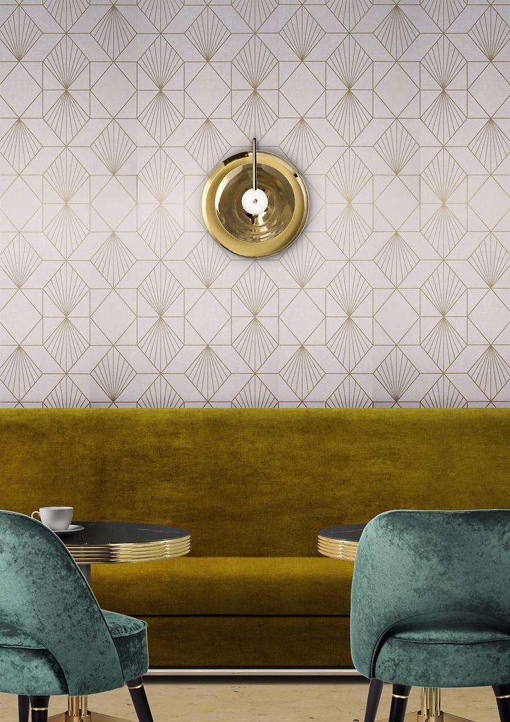Basie: la lampada da parete elegante e sofisticata che renderà unico il tuo salotto.  #DelightFULL #EssentialHome #interiordesign #homedecor #decorazioni #interni #illuminazione #arredamento #ideearredamento #anni50 #anni60 #luxurybrand #designlovers #lampada #modernstyle #midcentury #furniture #lighting