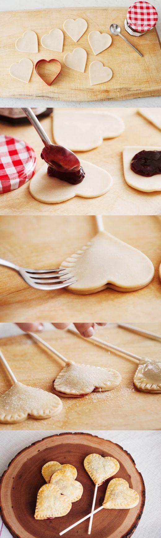 DIY Heart Cookies