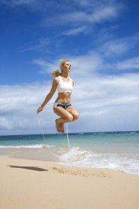 Seven High-Energy Cardio Exercises Using a Jump Rope | Women's Health Fitness Blog: Get killer workouts, learn about new fitness trends, and snag awesome gear