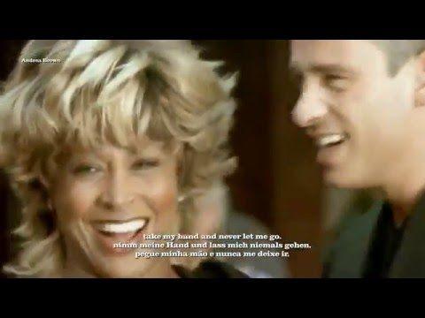 (525) Eros Ramazzotti- Tina Turner- Cose della vita- Italian/Deutsch/Português sub. - YouTube